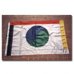 One World Flag– 3′ x 5′ sewn nylon, with grommets