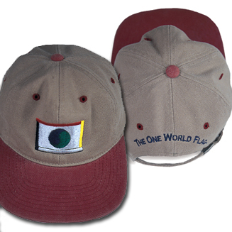 One World Flag Hat/Ballcap