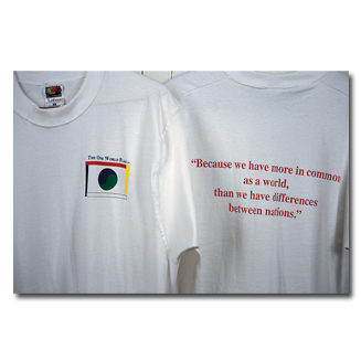 One World Flag T-shirt