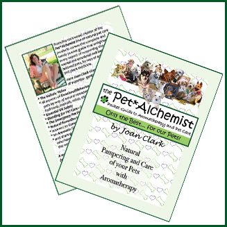 Joan Clark, Pet Alchemist, Pet*Alchemist, pocket guide, pet care